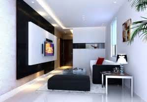 Small Living Room Ideas With Tv Black And White Tv Wall For Small Living Room Interior Design