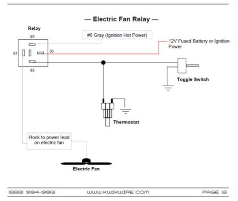 Automotive Wiring Relay Diagram by Inspirational Electric Fan Relay Wiring Diagram 70 On Mass