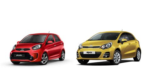 City Cars by Kia Freshens Up Picanto City Car And Supermini
