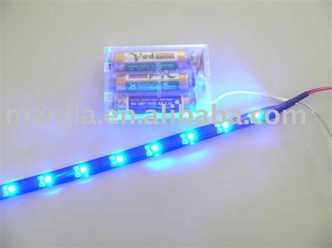battery powered led light 4 5v blue led buy