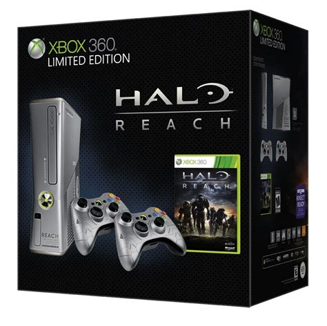 xbox  limited edition halo reach bundle unveiled
