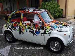 Willow Presenta Made In Italia  La Sua Fiat 500 Dipinta A