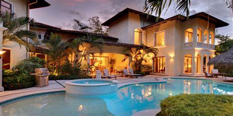 costa rica house rentals vacation rentals playa flamingo potrero tropical homes