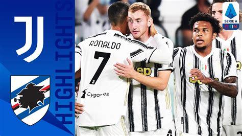 Juventus 3-0 Sampdoria [Video Highlights - Serie A 2020 ...