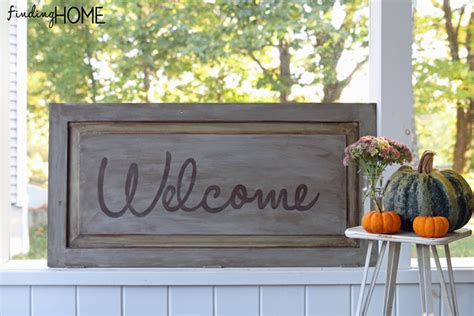 Easy Diy Outdoor Fall Sign (really, It Is Super Easy