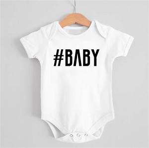 Personalised  Baby Babygrow By Precious Little Plum