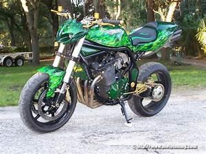 Suzuki Bandit 1200 Tuning : green bandit moto ~ Jslefanu.com Haus und Dekorationen