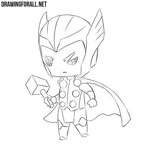draw chibi thor drawingforallnet