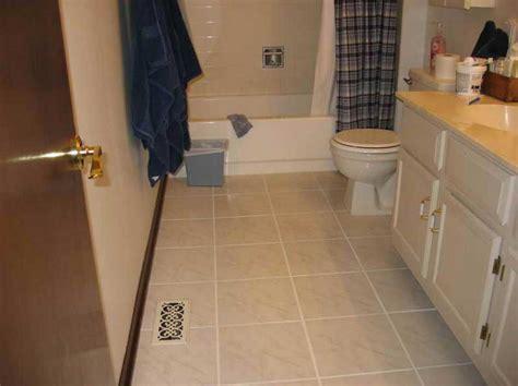 tile ideas for small bathroom small bathroom tile floor ideas with beige tile color