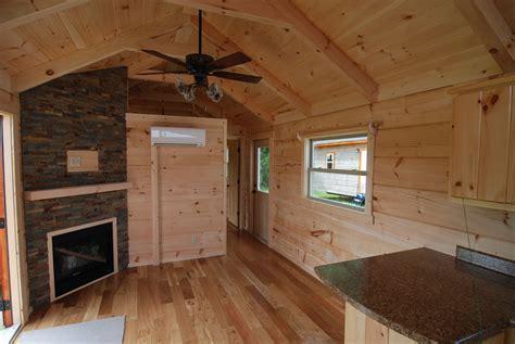 34' x12' Easy Keeper Park Model Log Cabin   Mountain