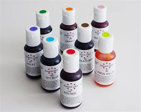 shop food coloring gel markers  powder cakegirls