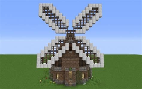 medieval small windmill creation