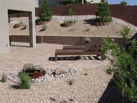 Backyard Desert Landscape Designs by Southwestern Landscaping Albuquerque Nm Photo Gallery