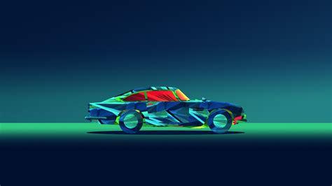 Abstract Car Wallpaper 4k by Abstract Car Facets Justin Maller Hd Abstract 4k