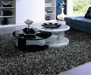 Couchtisch Mit Schwarzer Glasplatte : schwarzer runder couchtisch energiemakeovernop ~ Bigdaddyawards.com Haus und Dekorationen