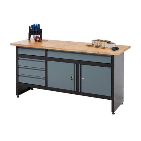 newpo garage drawer cabinet workbench wood worktop