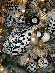 1000 images about black and white Christmas tree on