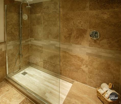 large travertine tile large slate tile for shower walnut travertine tiles classic travertine shower tray and border