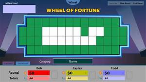 wheel of fortune blank template pictures to pin on With wheel of fortune board template