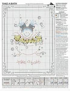 Take a bath free pattern cross stitch inspirations for Bathroom cross stitch patterns free