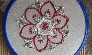 Embroidery – Inpire me Monday project with mitred corner ...