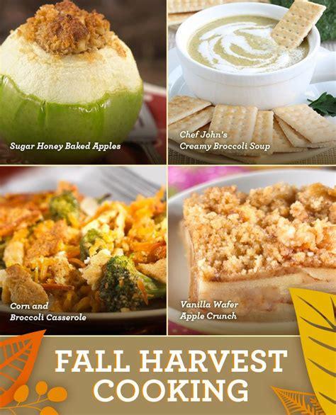 fall recipe ideas fall menu recipe ideas food pinterest