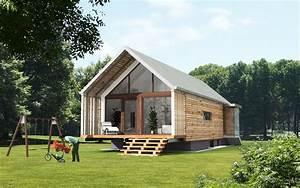 Fertighaus Holz Bungalow : fertighaus ek 024 architektur g nstiges haus haus und holzfertighaus ~ Orissabook.com Haus und Dekorationen