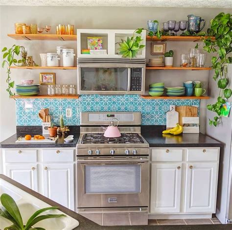 25+ Comely Boho Chic Kitchen Diy