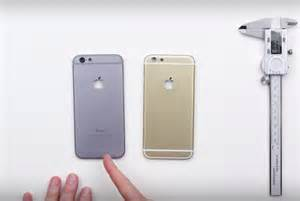 iphone 6 vs 6s image gallery iphone 6 and 6s differences