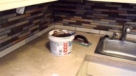 tiling your kitchen grouting ceramic tile kitchen back splash 2827
