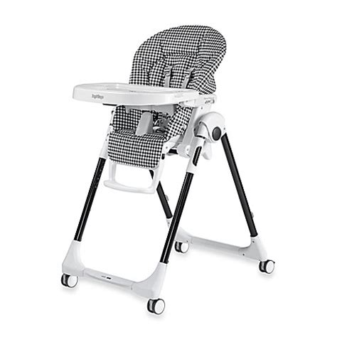 chaise peg perego prima pappa buy peg perego prima pappa zero 3 high chair in gingham