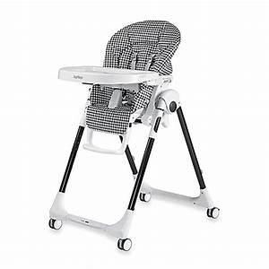 Peg Perego Hochstuhl Prima Pappa : peg perego prima pappa zero 3 high chair in gingham black buybuy baby ~ Frokenaadalensverden.com Haus und Dekorationen