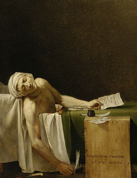 The Death Of Marat And The Death Of Art  The Charnelhouse