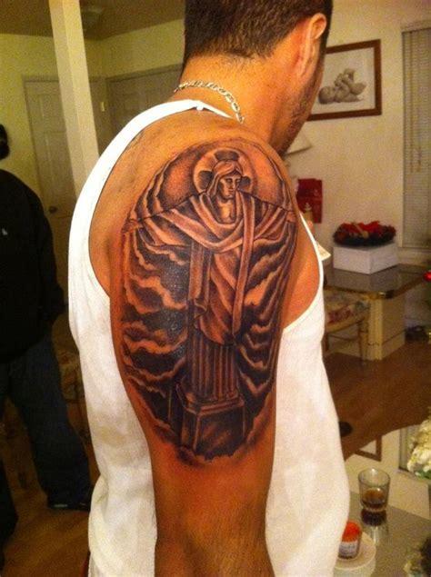 friends christ  redeemer tattoo   statue