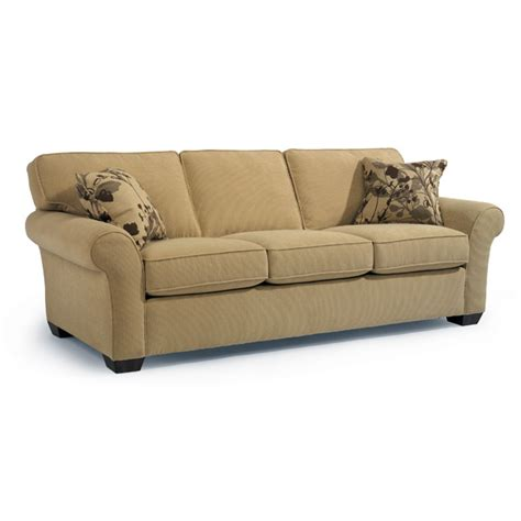 Flexsteel Vail Sofa Leather by Vail Fenton Home Furnishings