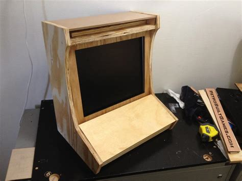 diy arcade cabinet kits more cabinet 10 11