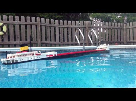 8 lego edmund fitzgerald model sinking 1 3 youtube