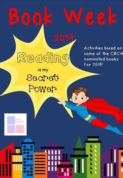 book week  reading   secret power