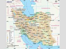 Map of Iran, Iran Map