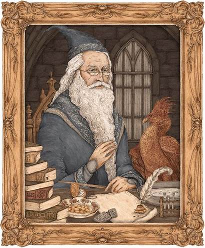 Dumbledore Pottermore Albus Portrait Harry Roux Moving