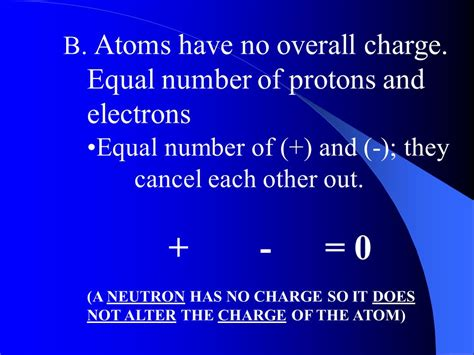 Protons Equal Electrons by Atoms What Is The Structure Of The Atom Ppt