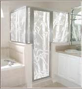 Decorative Floral Glass Shower Door Decorative Film Ideas For Your Home Phoenix AZ Veteran Window