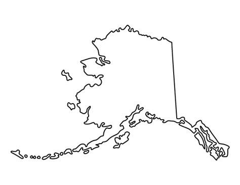 printable alaska template