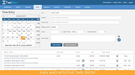 legal time tracking billing solution timesolv
