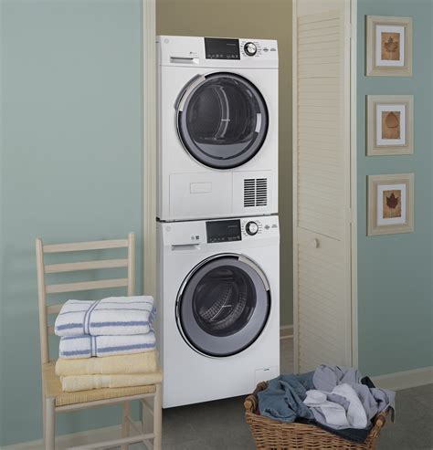 gfwsslww ge   cu ft stackable compact washer  steam energy star