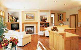 open floor plans small homes living large in a small home house plans and more