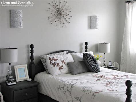 master bedroom makeover clean  scentsible