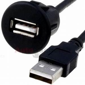 Glühbirnenfassung Mit Kabel : usb einbau buchse adapter kabel anschluss aux verl ngerung f r radio iphone pc ebay ~ Orissabook.com Haus und Dekorationen