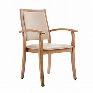 Chaise Fauteuil Avec Accoudoir : chaise liza dossier haut ~ Melissatoandfro.com Idées de Décoration