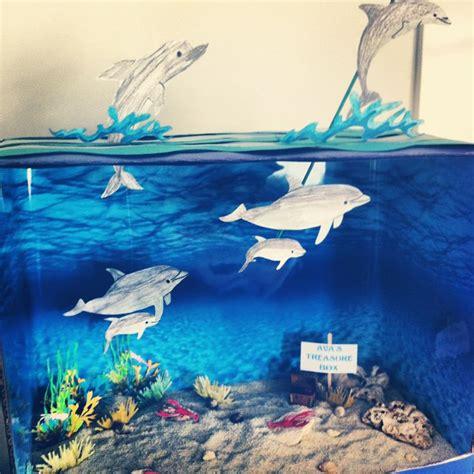 avas ocean diorama bottlenose dolphin ocean life